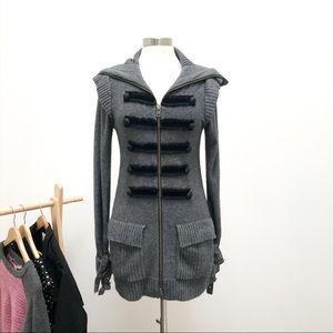 Nanette Lepore Cashmere Sweater Jacket